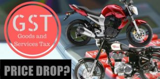 GST price drop- motoruse