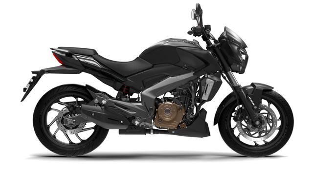 Bajaj Launched Dominar 400 Matte Black Colour