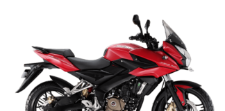 Bajaj Pulsar AS 200- motoruse