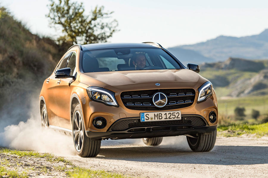 Launching on July 5, 2017 Mercedes-Benz GLA Facelift